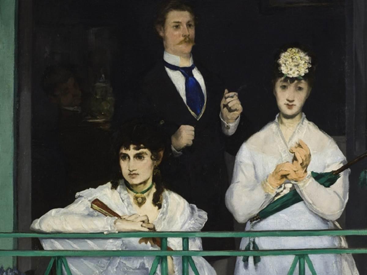 Manet, The Balcony