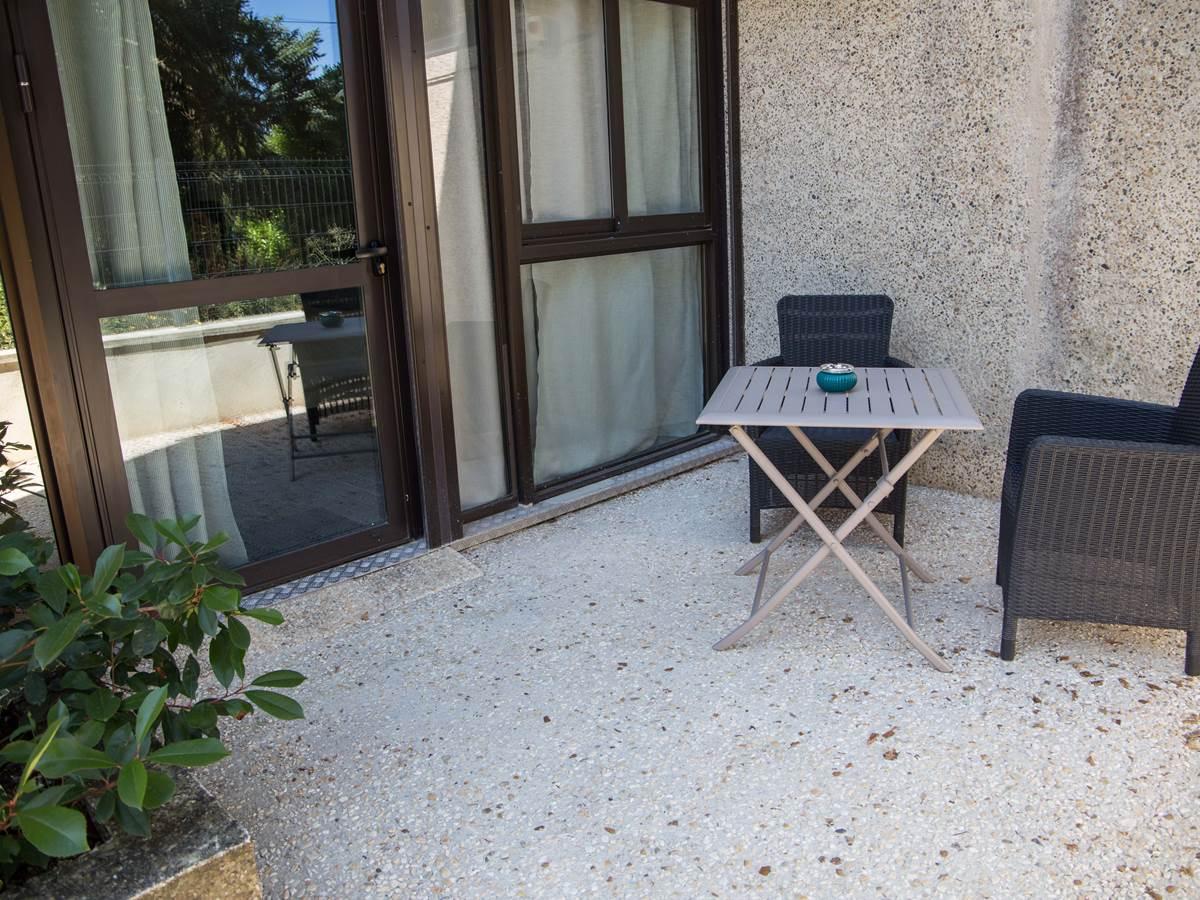 Terrasse privative du logement 6.