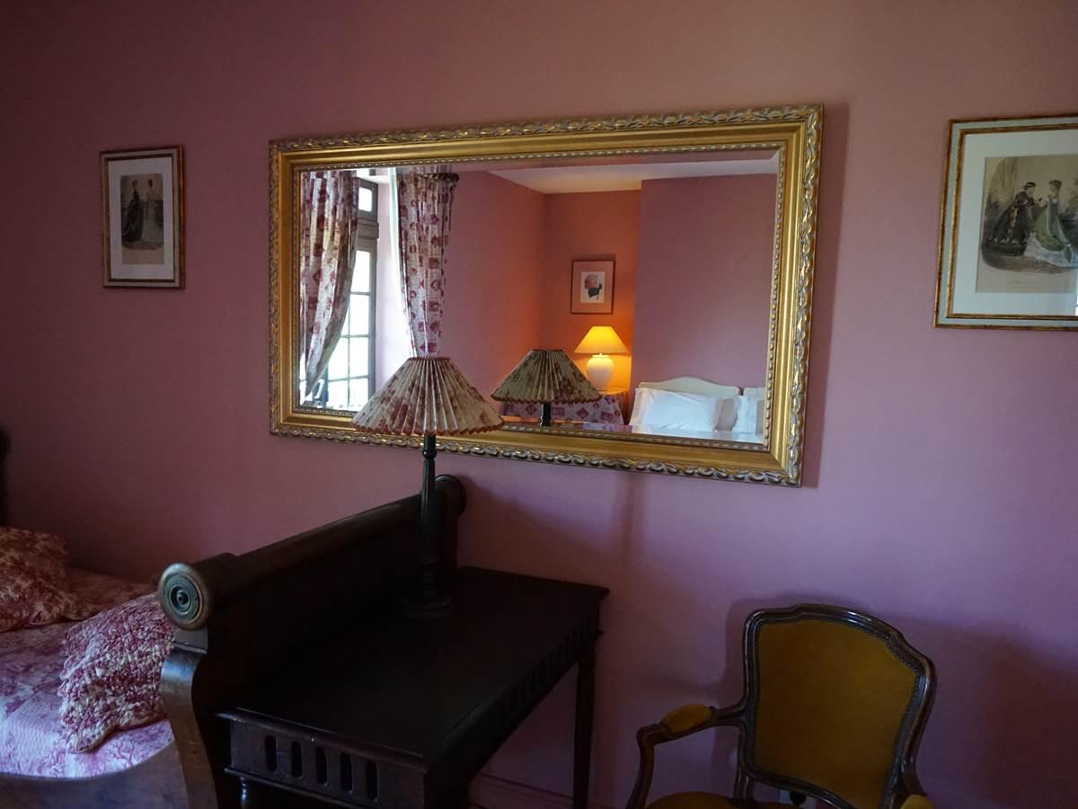 Détail décoration chambre Ursuia