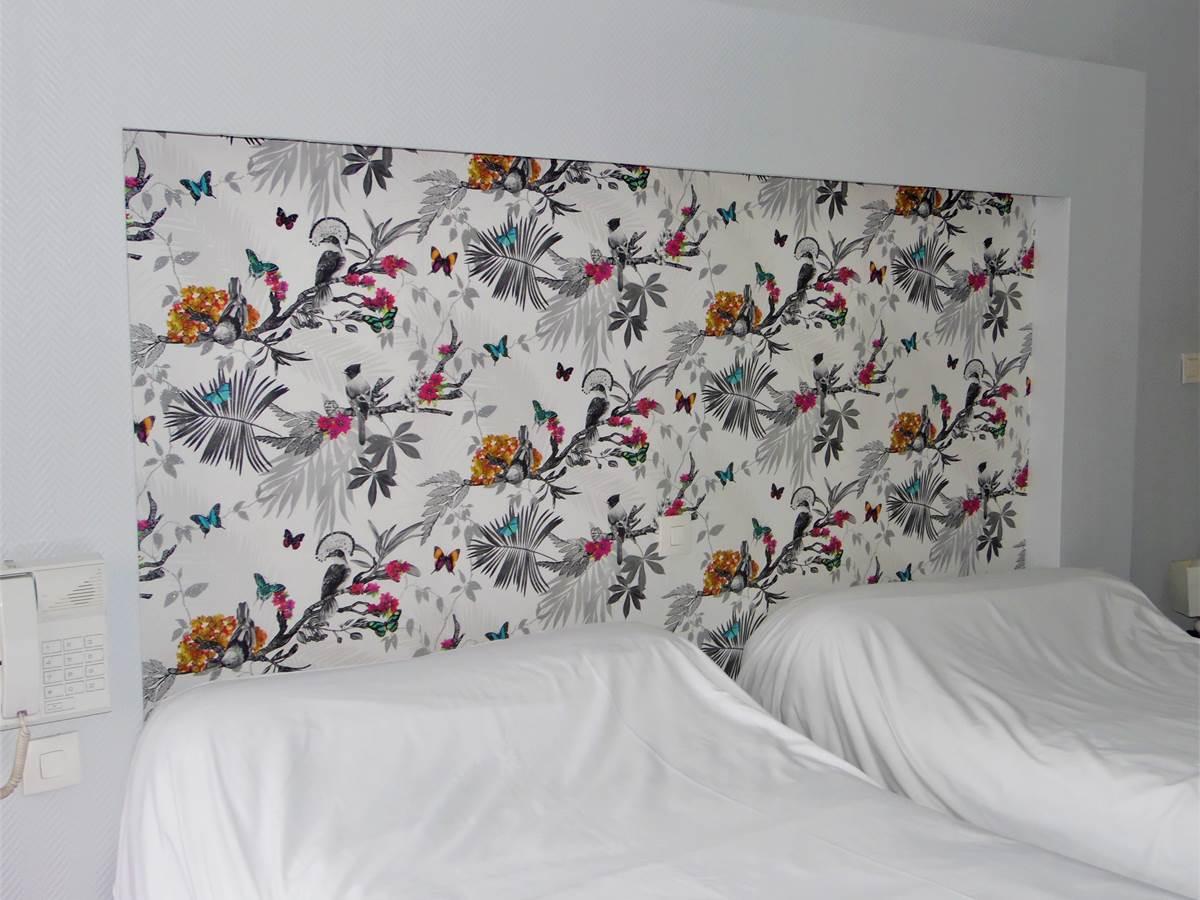 lits jumeaux ou double côté cour