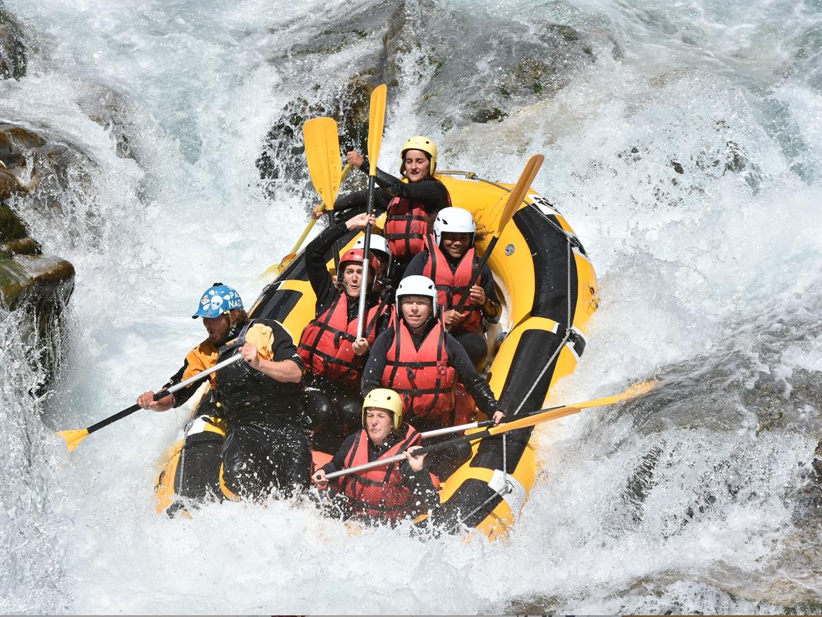 Activité - Rafting