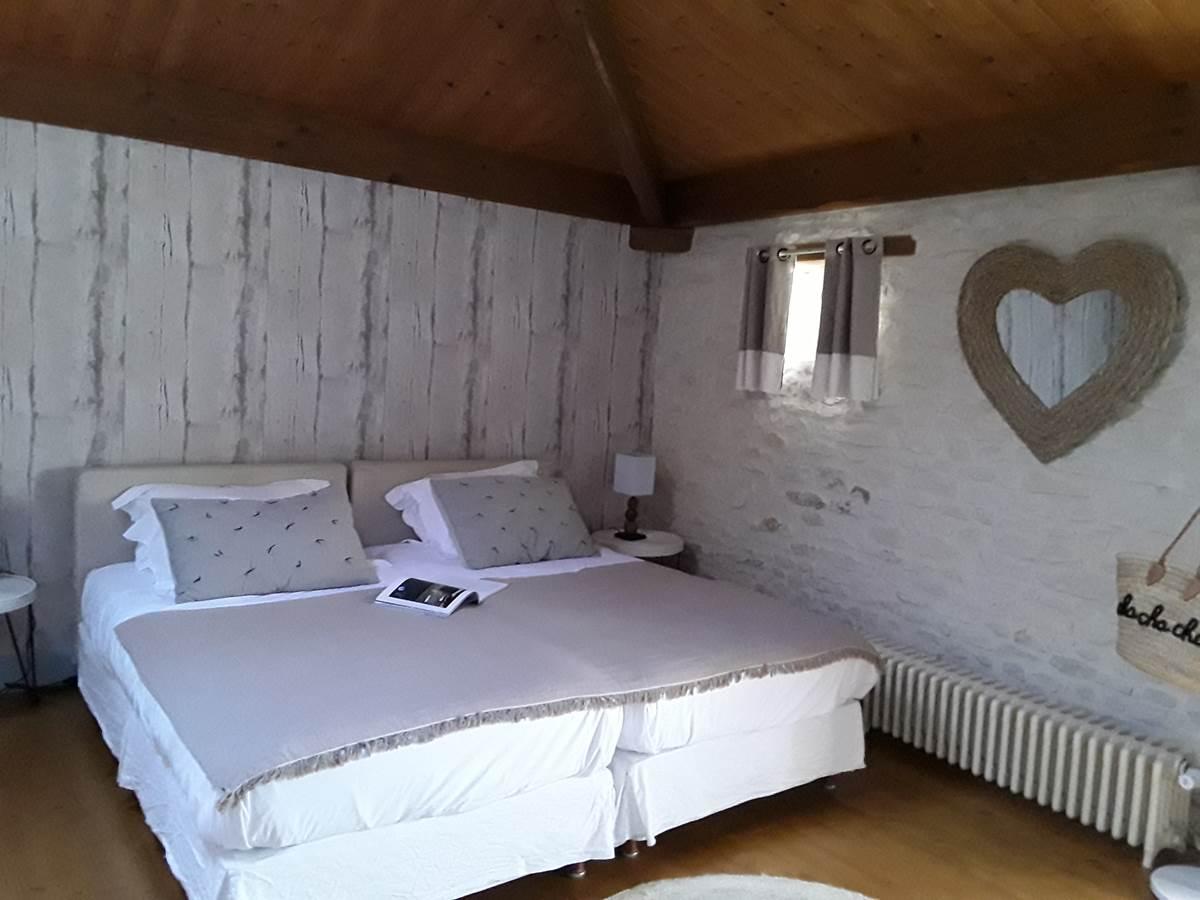 Chambre d'hôtes LIN à La Rochelle Lodge