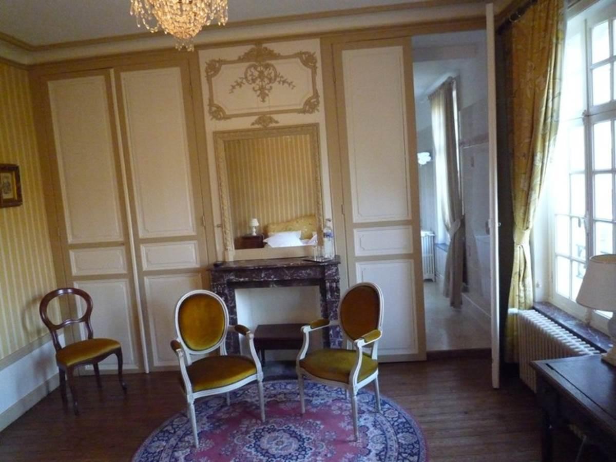 Château de Behen chambre Citrine