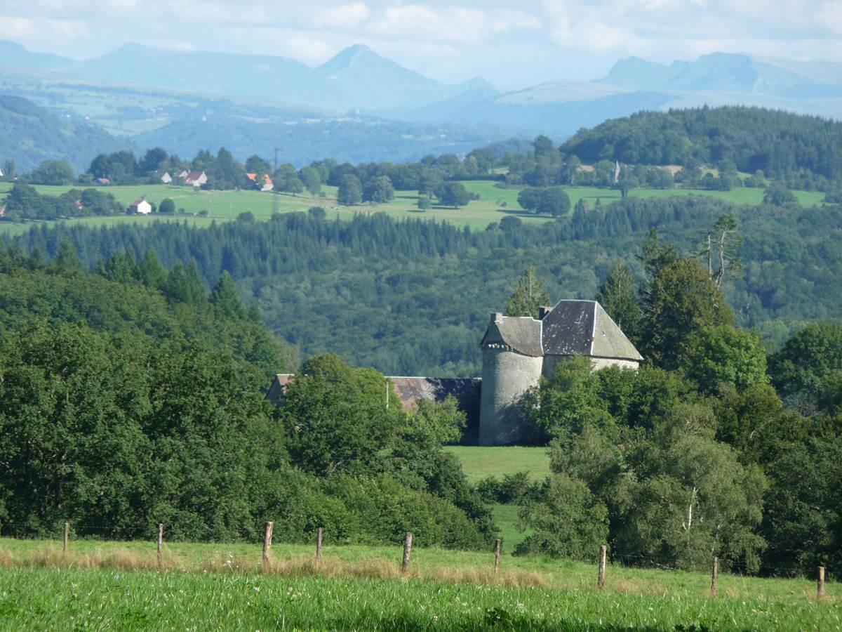 Le massif volcanique du Cantal