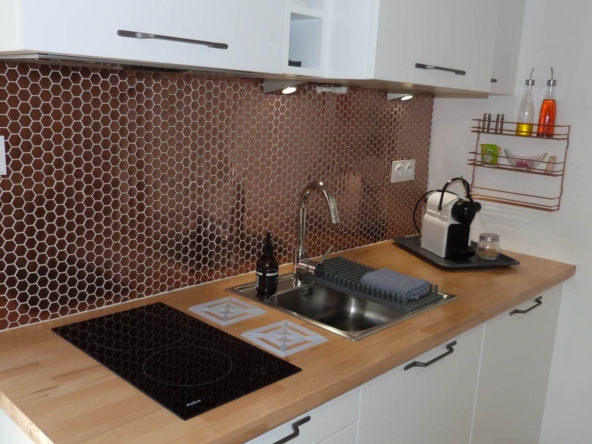 Alba Studios 1, Saint Cyprien, cuisine copie