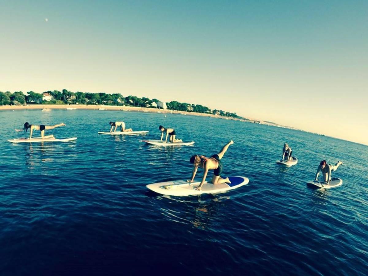 Cours en groupe 45 mn - Pilate sur paddle