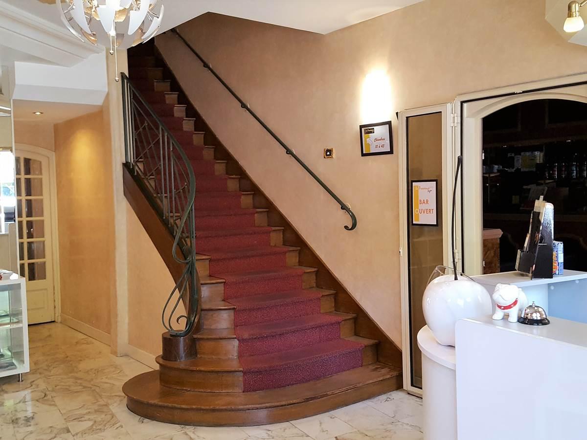 Grand Escalier de l'hôtel