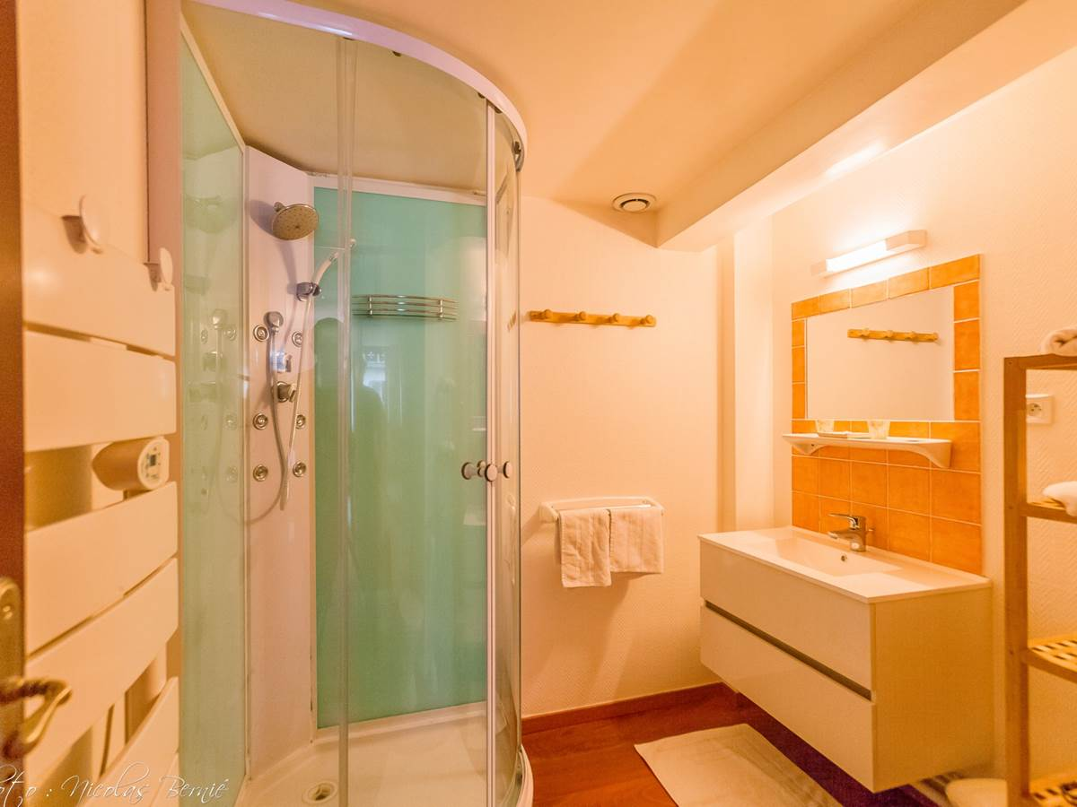 Salle de bain du Studio de charme