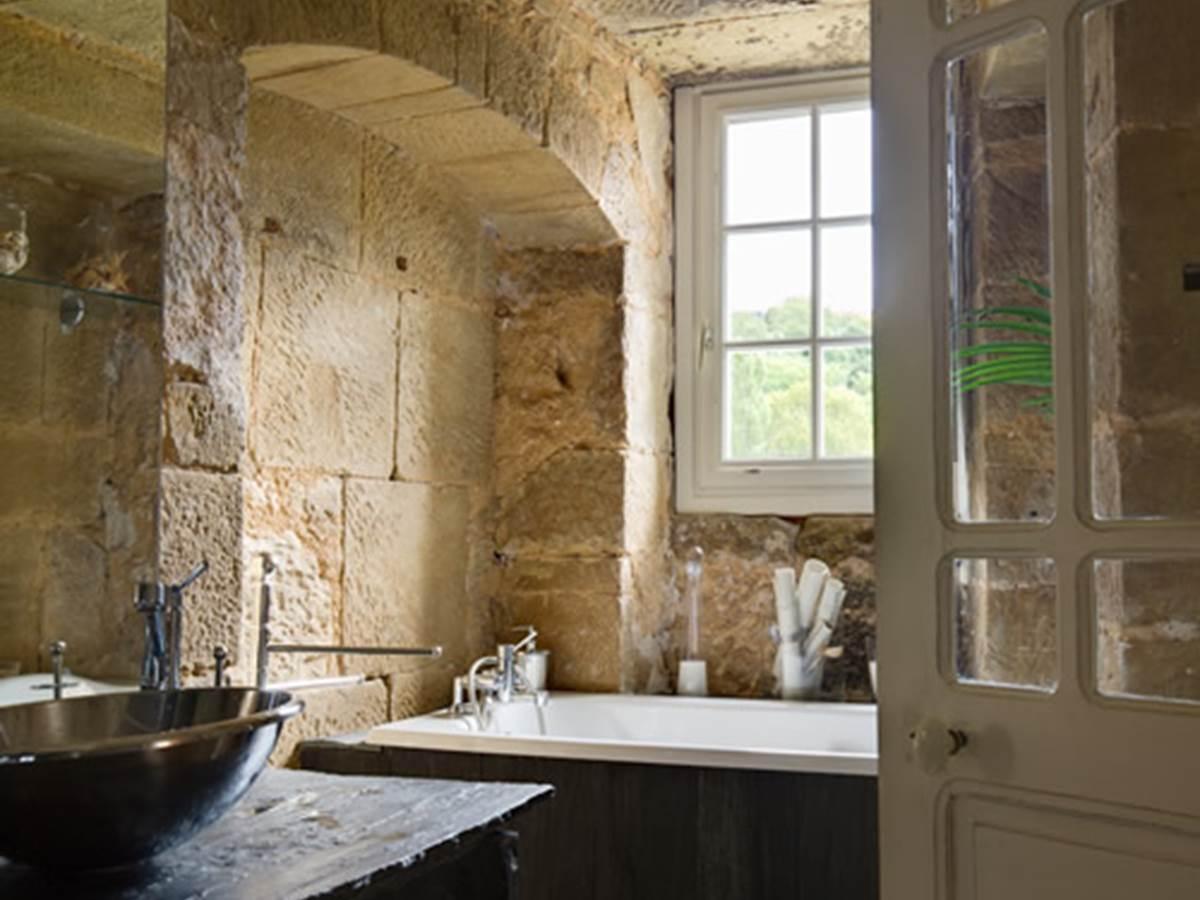 Chambre Jacinthe - Salle de bain