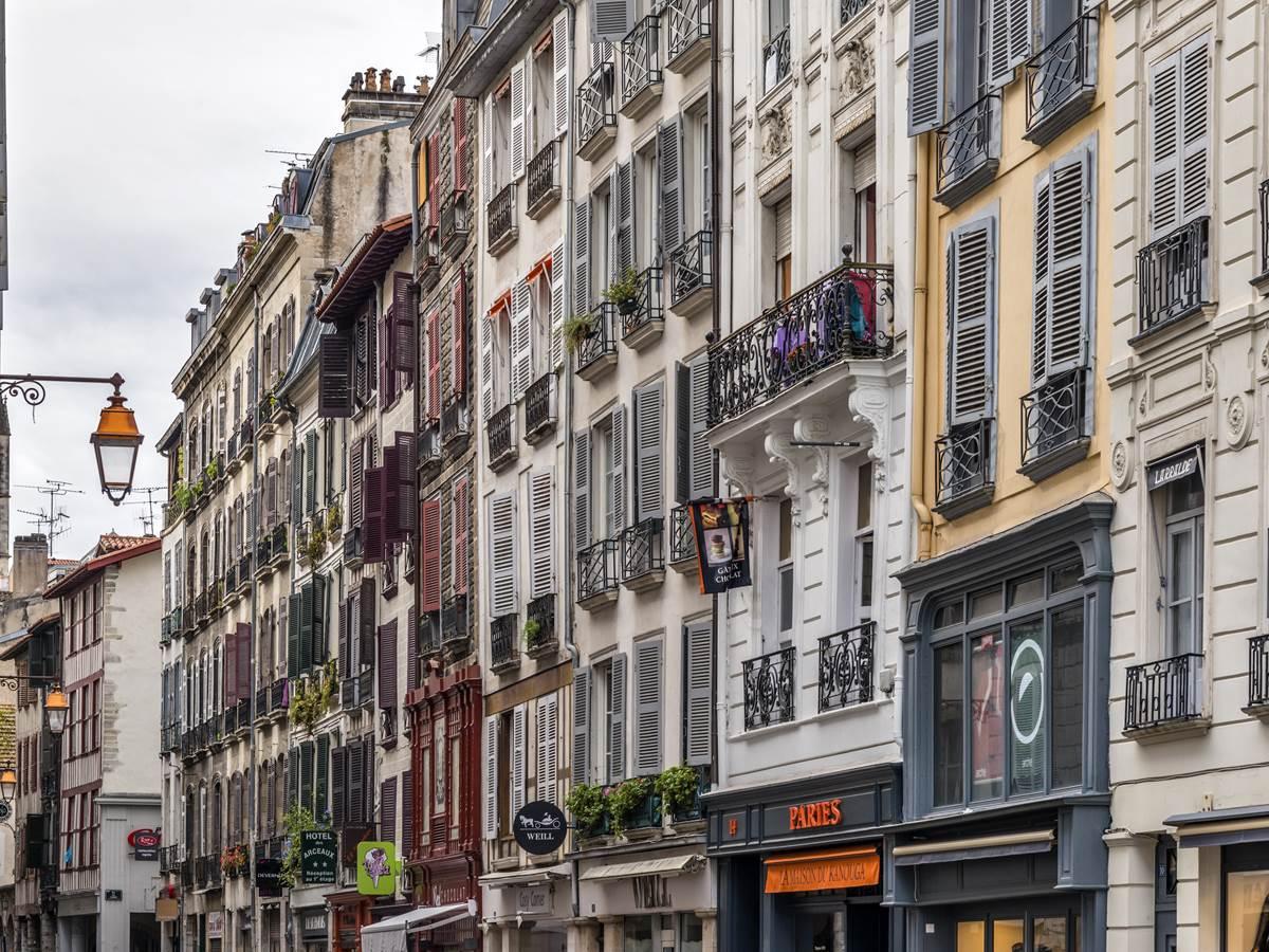 Quartier du Grand Bayonne coeur historique de la ville