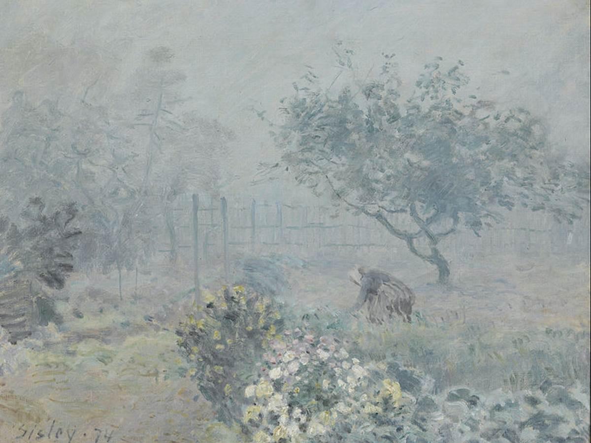 Sisley, Fog at Voisins
