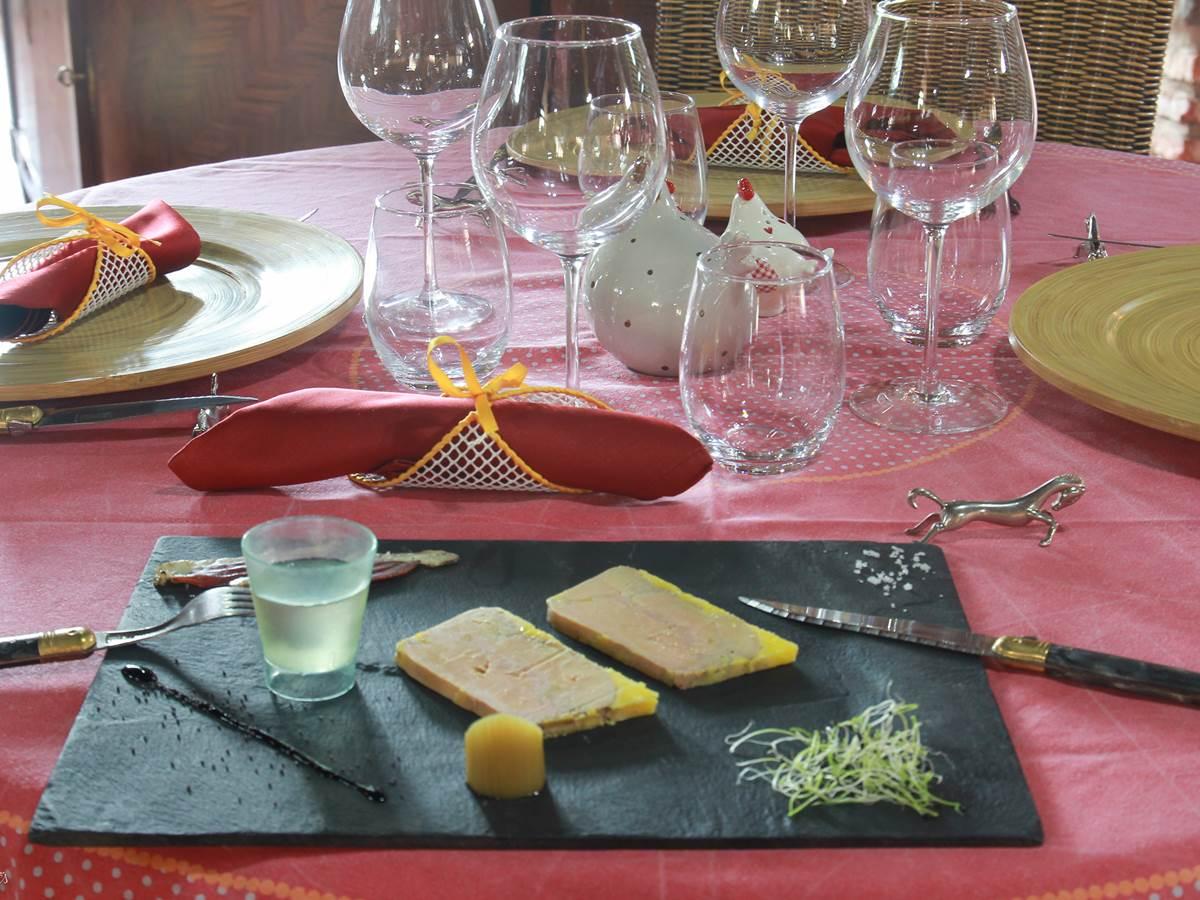 Foie gras de canard maison et gourmandises