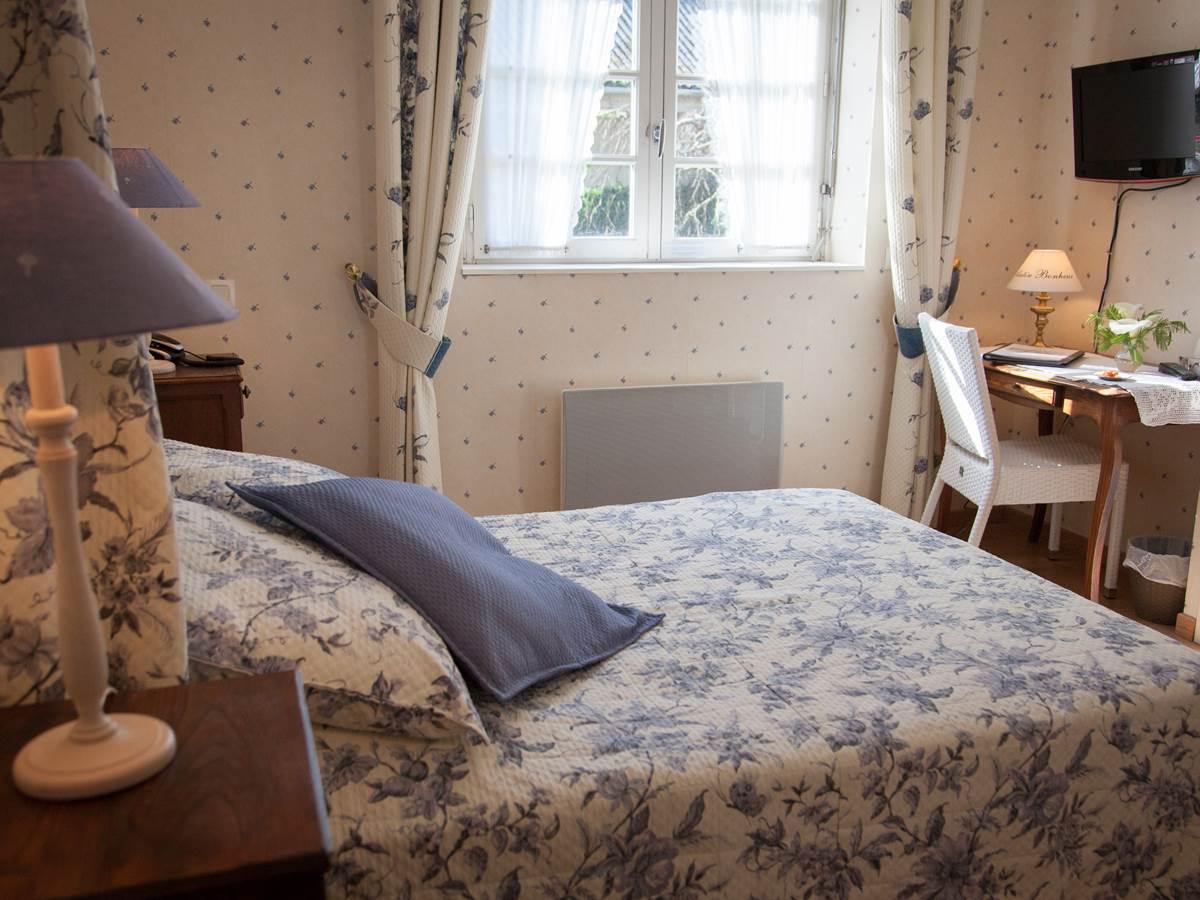 Chambre Classique Hôtel de Kerlon Plouhinec Morbihan