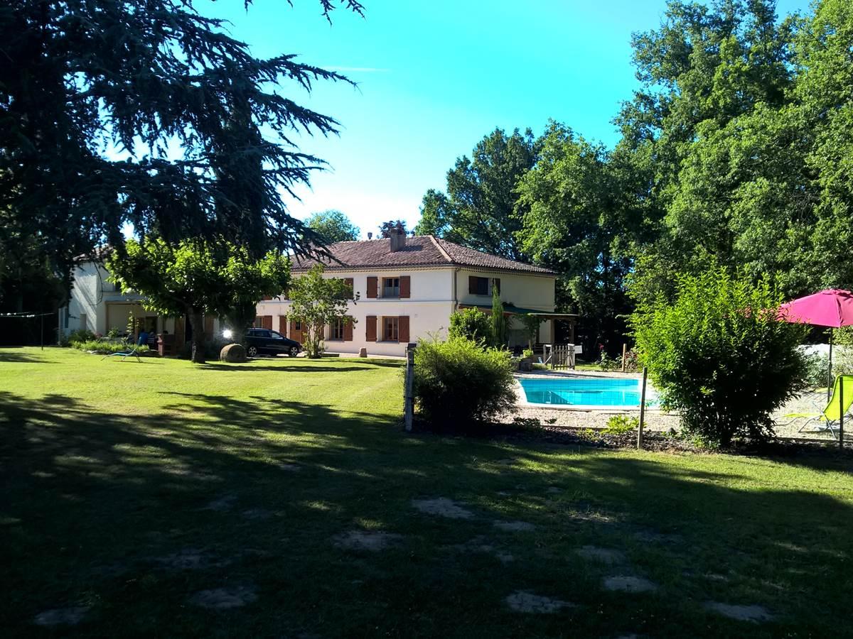 piscine Chambres hôtes Gîte Quercy
