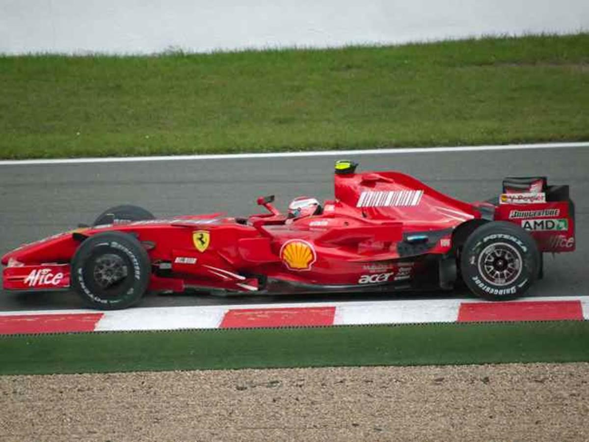 F1 sur le circuit de Spa-Francorchamps