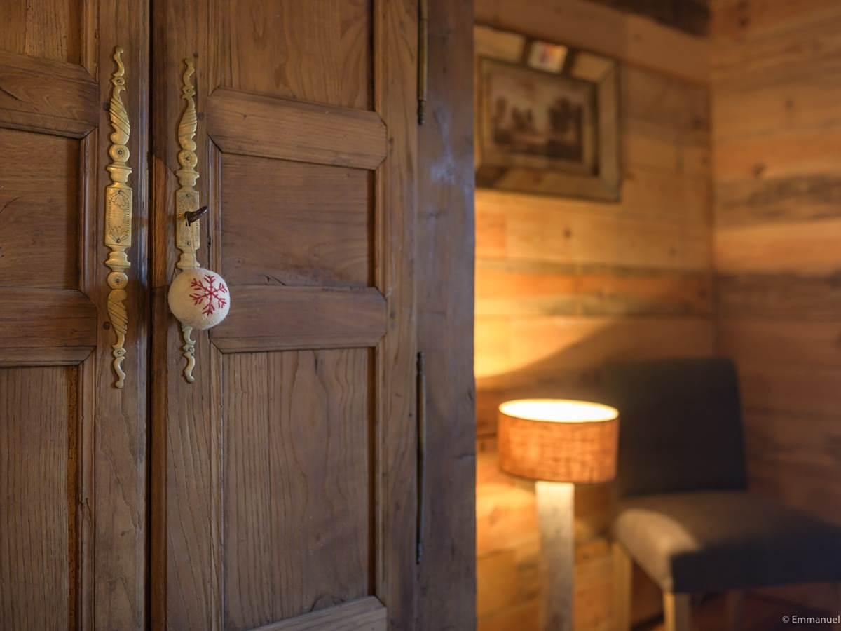 chambre 1 gîte bien être Le Jardin intérieur à Saint Congard - Bretagne