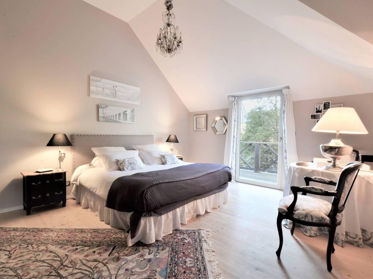 Chambres d'hôtes Ambiance Boudoir à la Villa Vent Couvert au Touquet