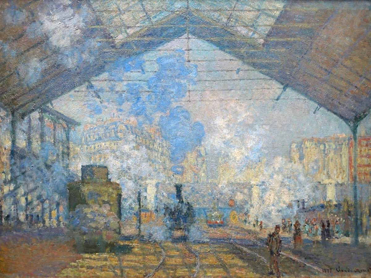 Monet, Gare Saint-Lazare