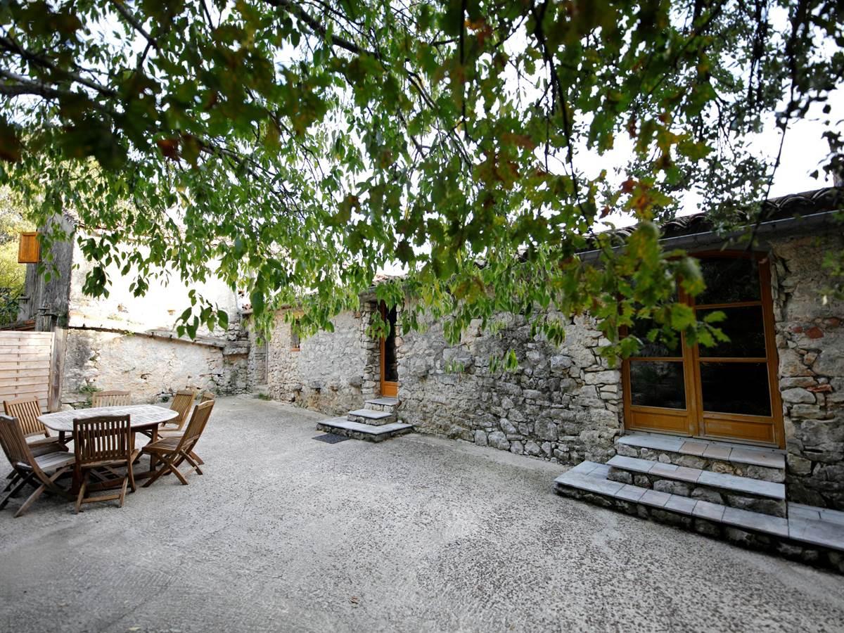 La Seranne, terrasse