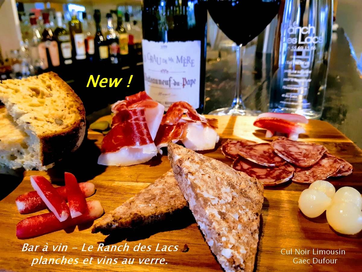 planche cul noir du Limousin- Gaec Dufour - Bar à vin du Ranch des Lacs