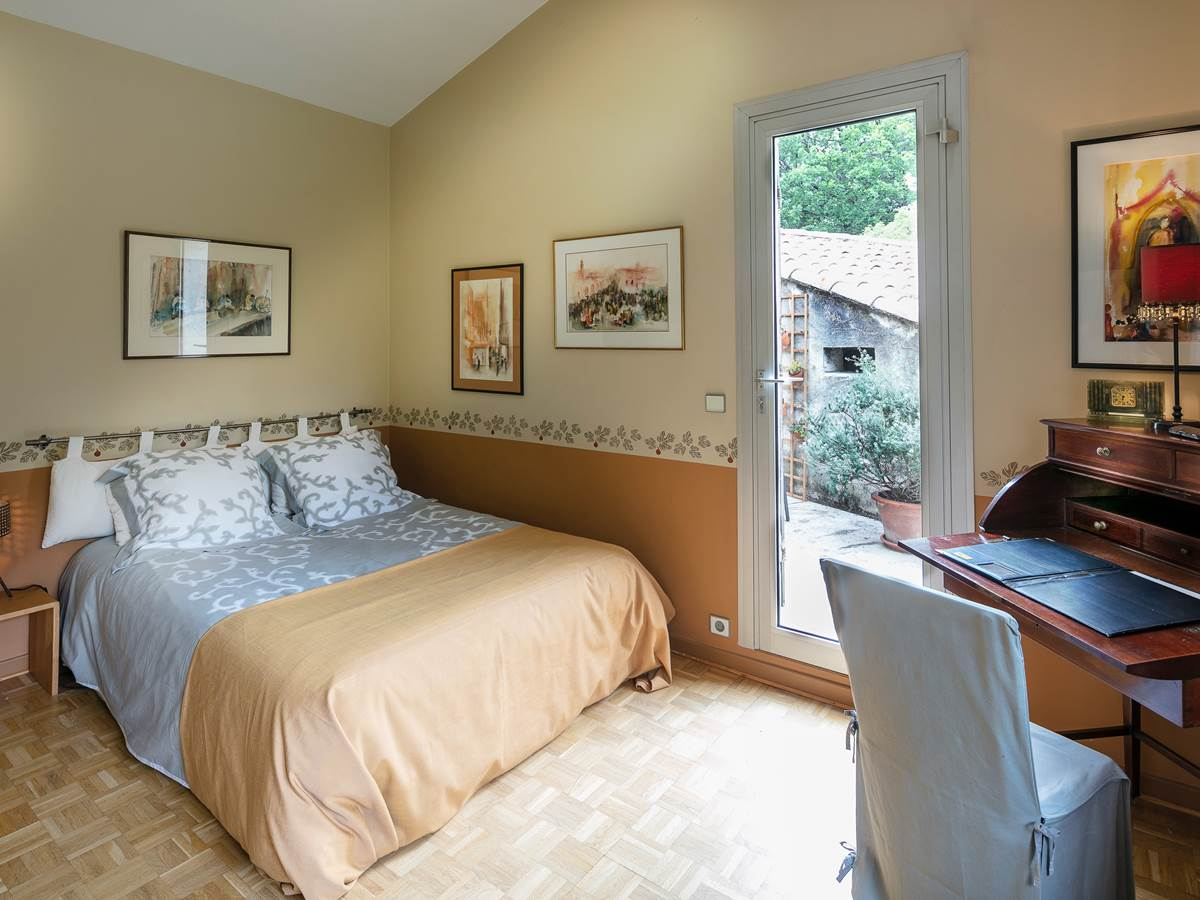 Chambre 1er étage avec terrasse privative