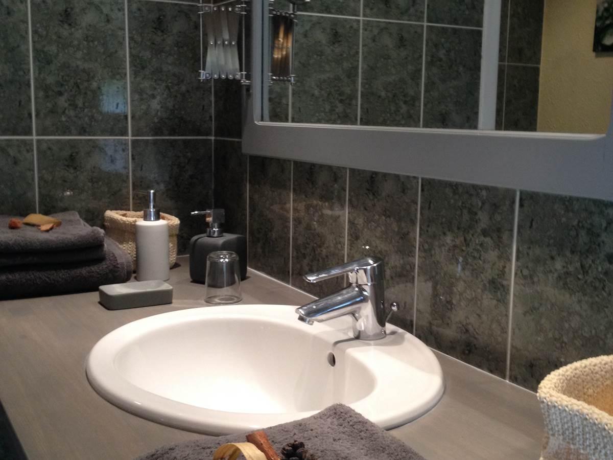 Chambre Ce´page, Salle de bain
