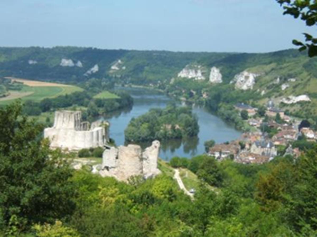 Château Gaillard, Les Andelys - Les vallées de la Seine