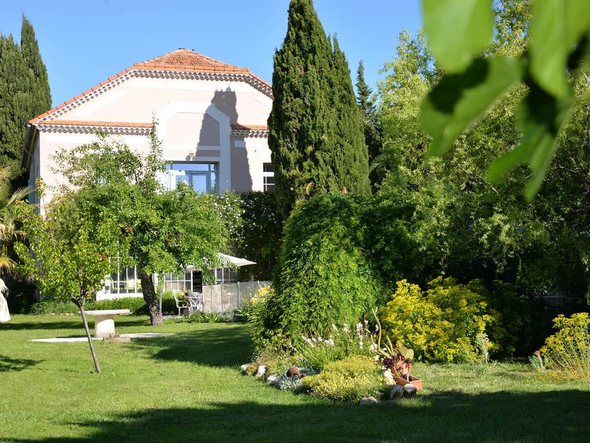Le jardin de la Villa Hanna