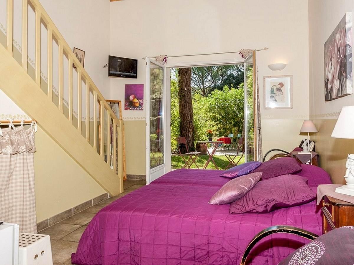 125 Chambre Tilleul avec vue sur le jardin