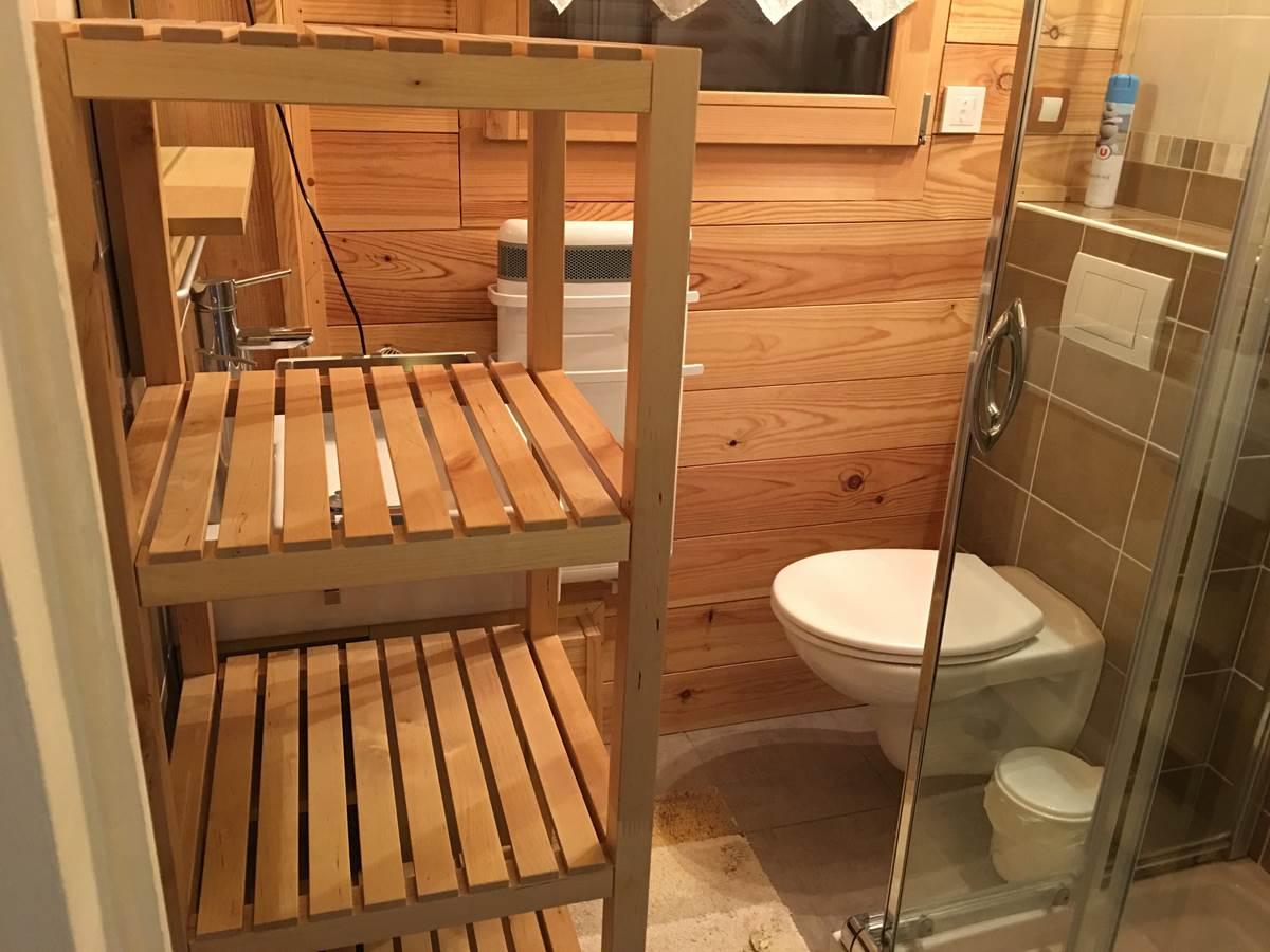 salle d'eau douche + wc