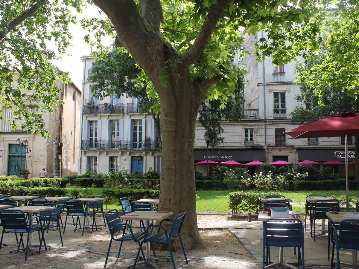 Place et rue de l'Hôtel de ville