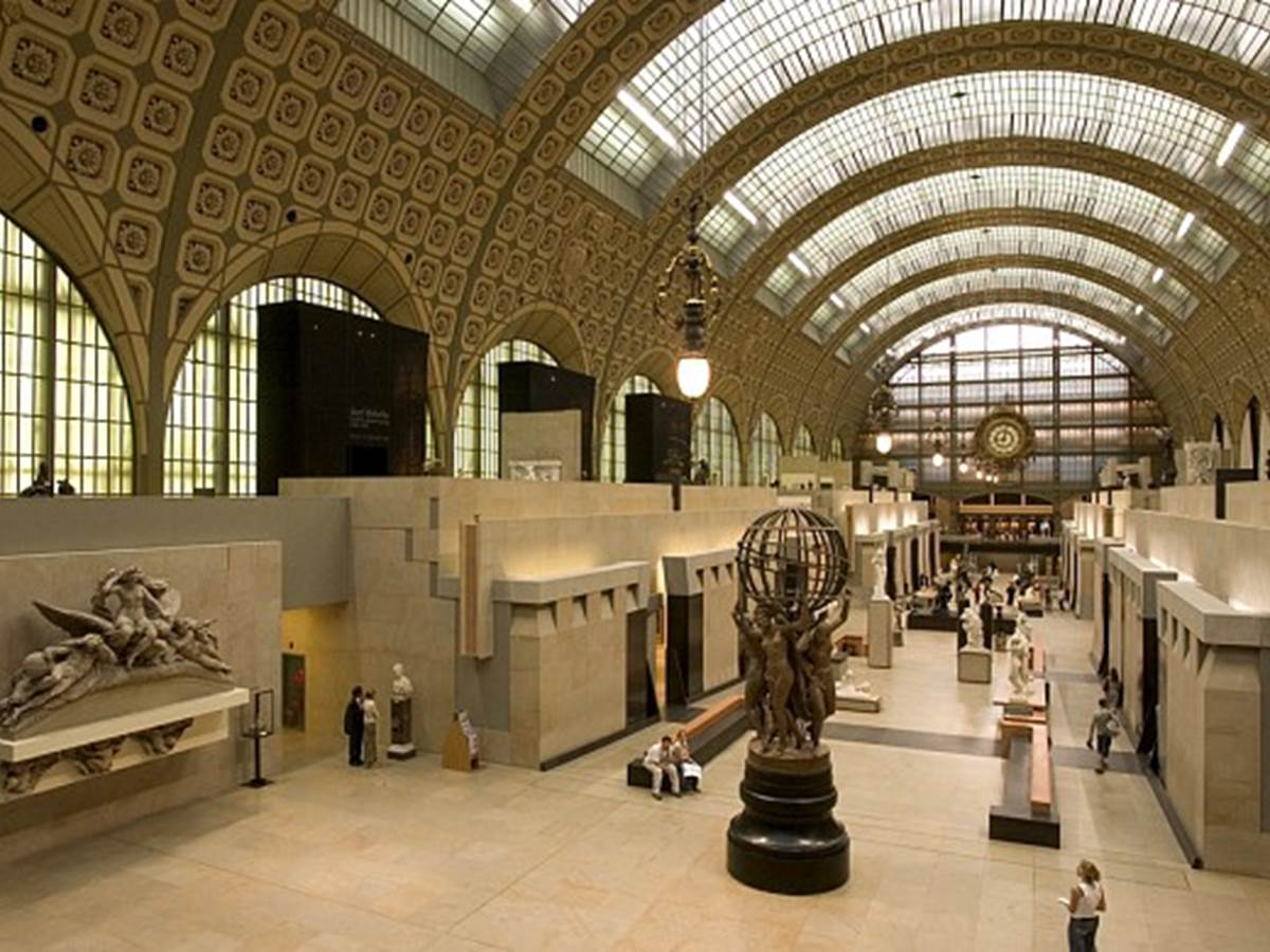 Orsay Museum nowadays... without the trains!