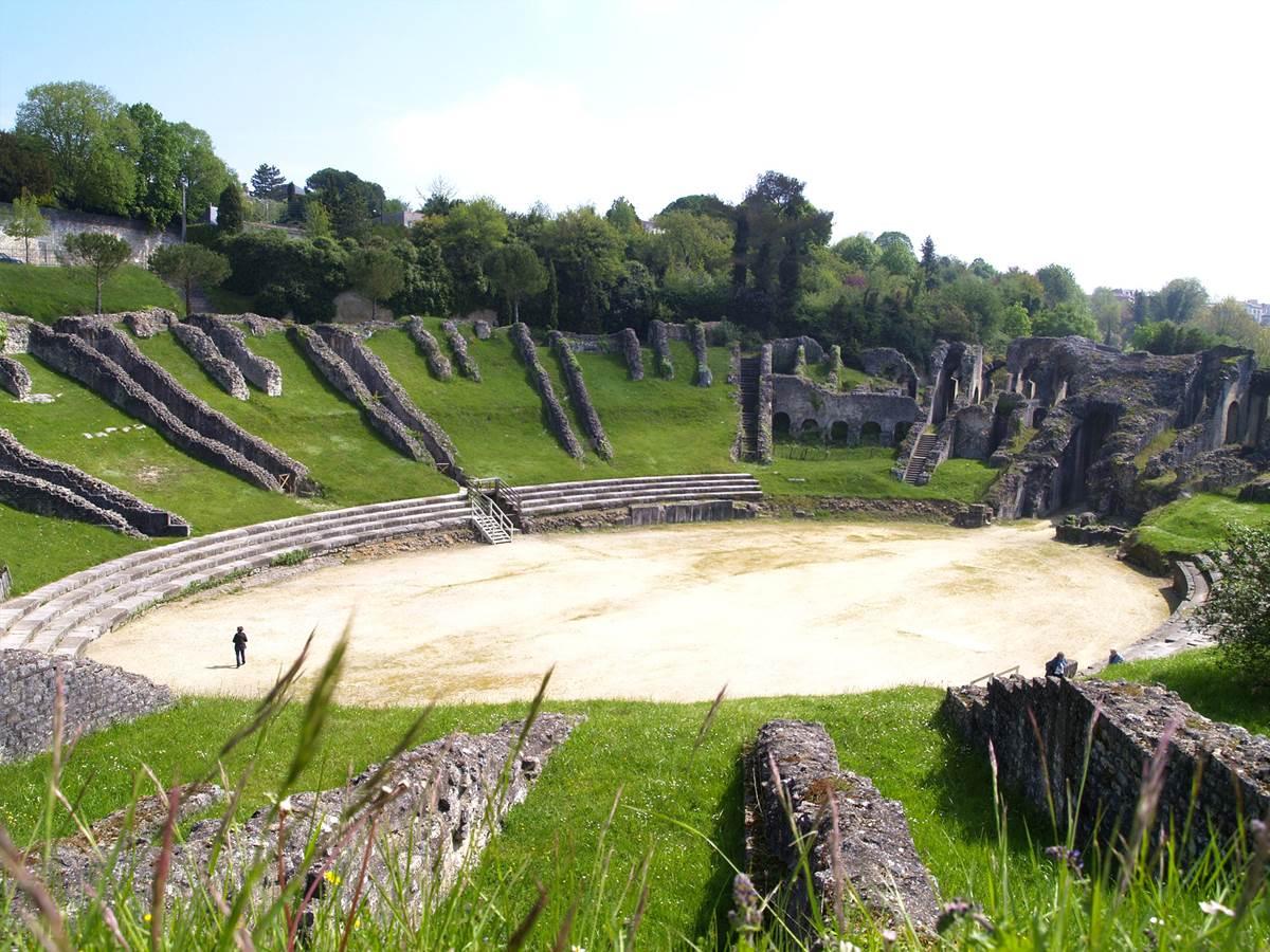 L'amphithéâtre gallo-romain - Saintes