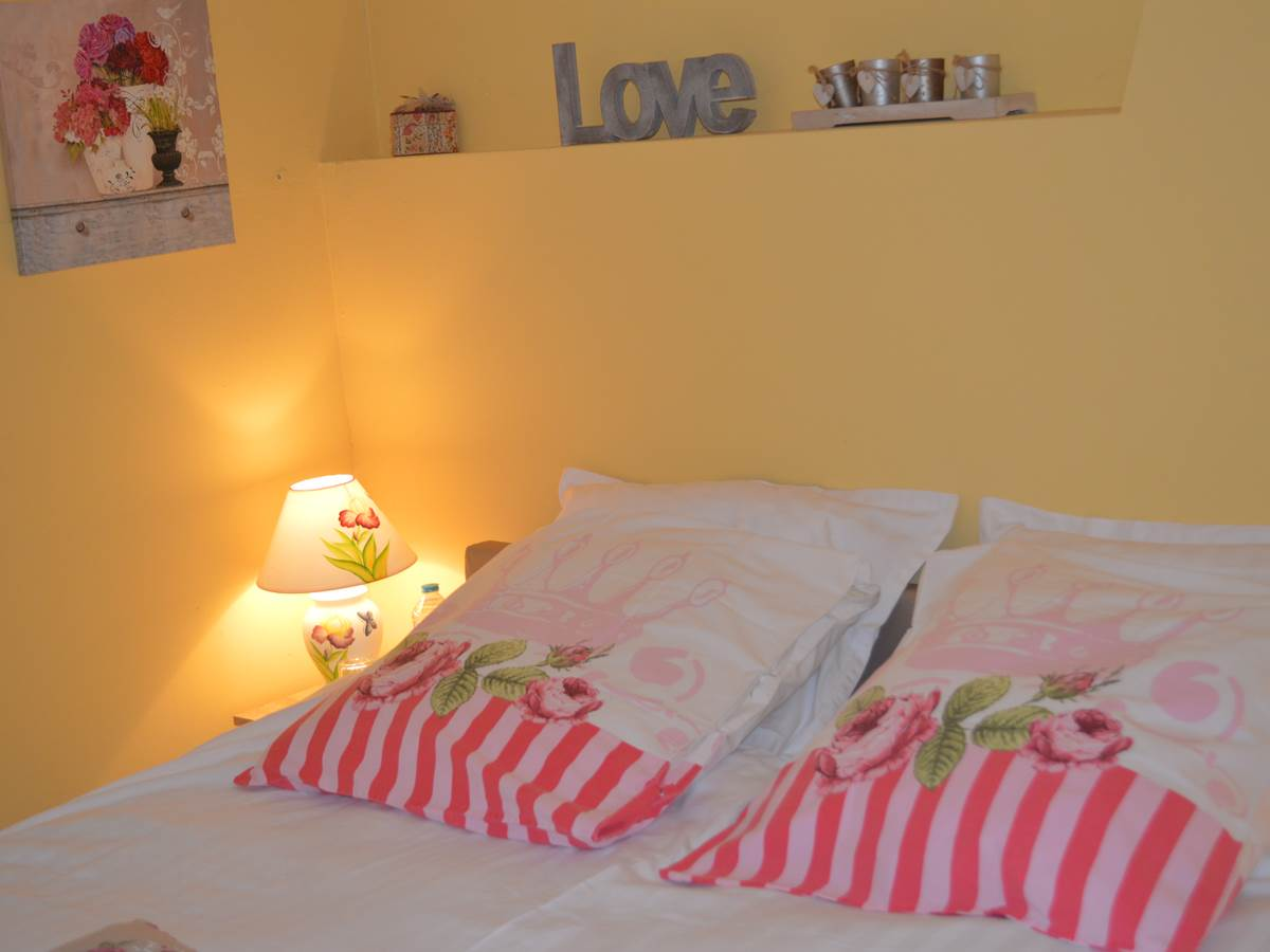 Chambre Rose Garden ambiance Cosy