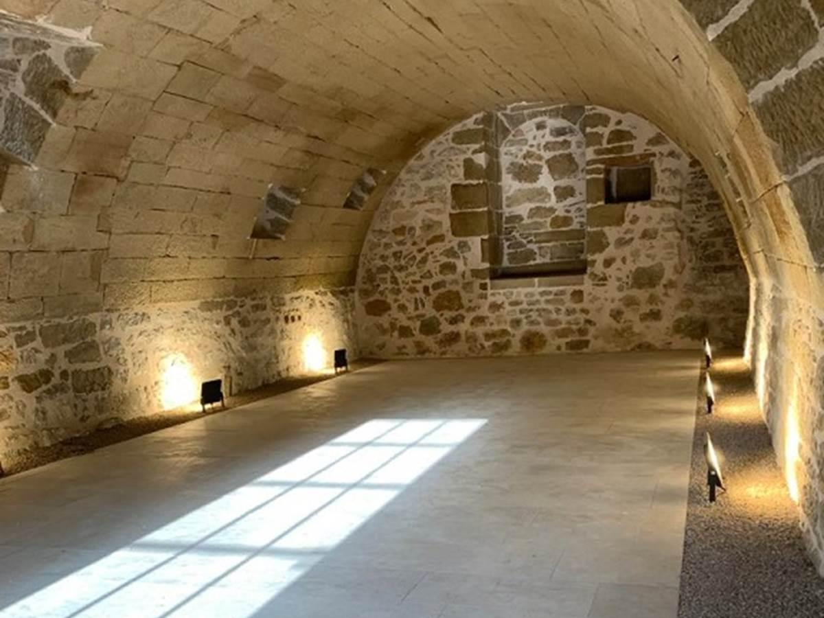 La cave voûtée du Gîte