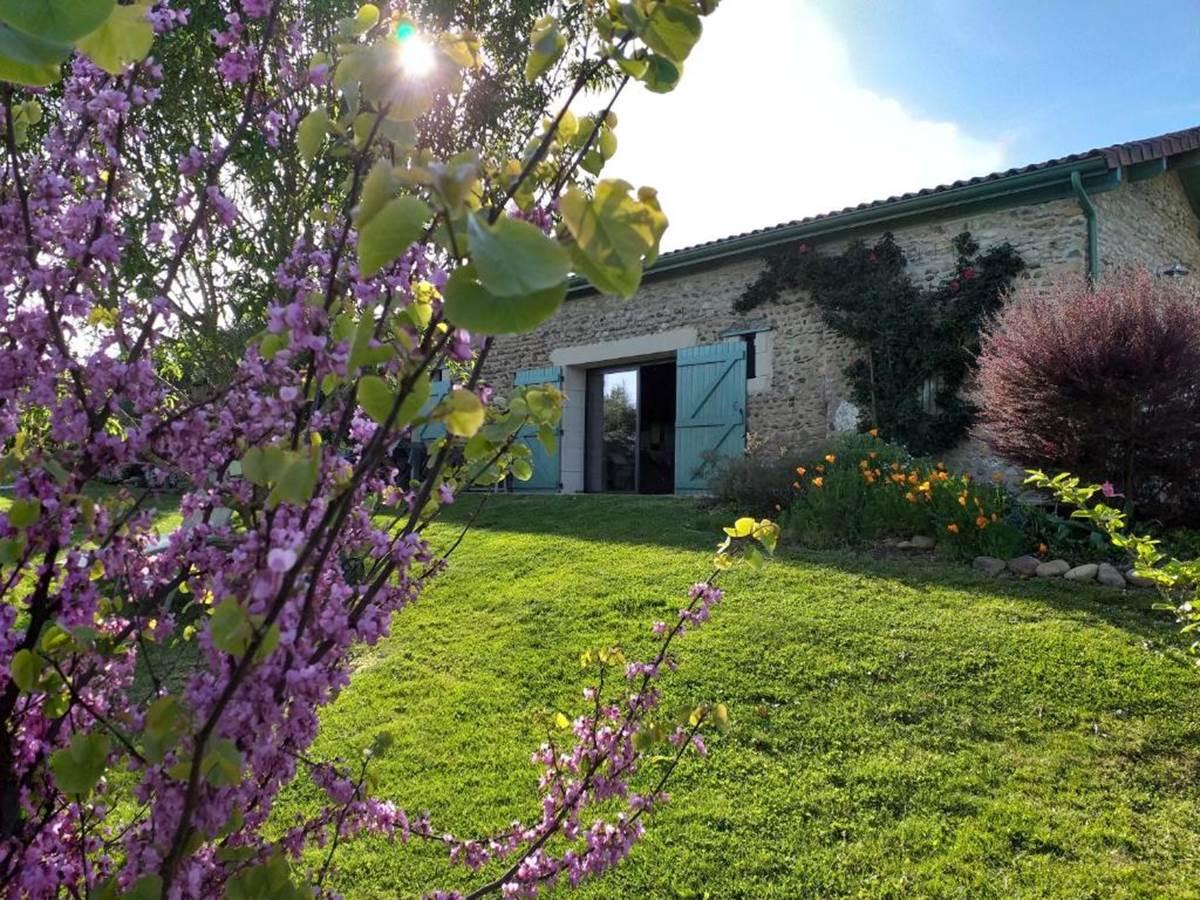 le jardin fleuri du Castelbosc