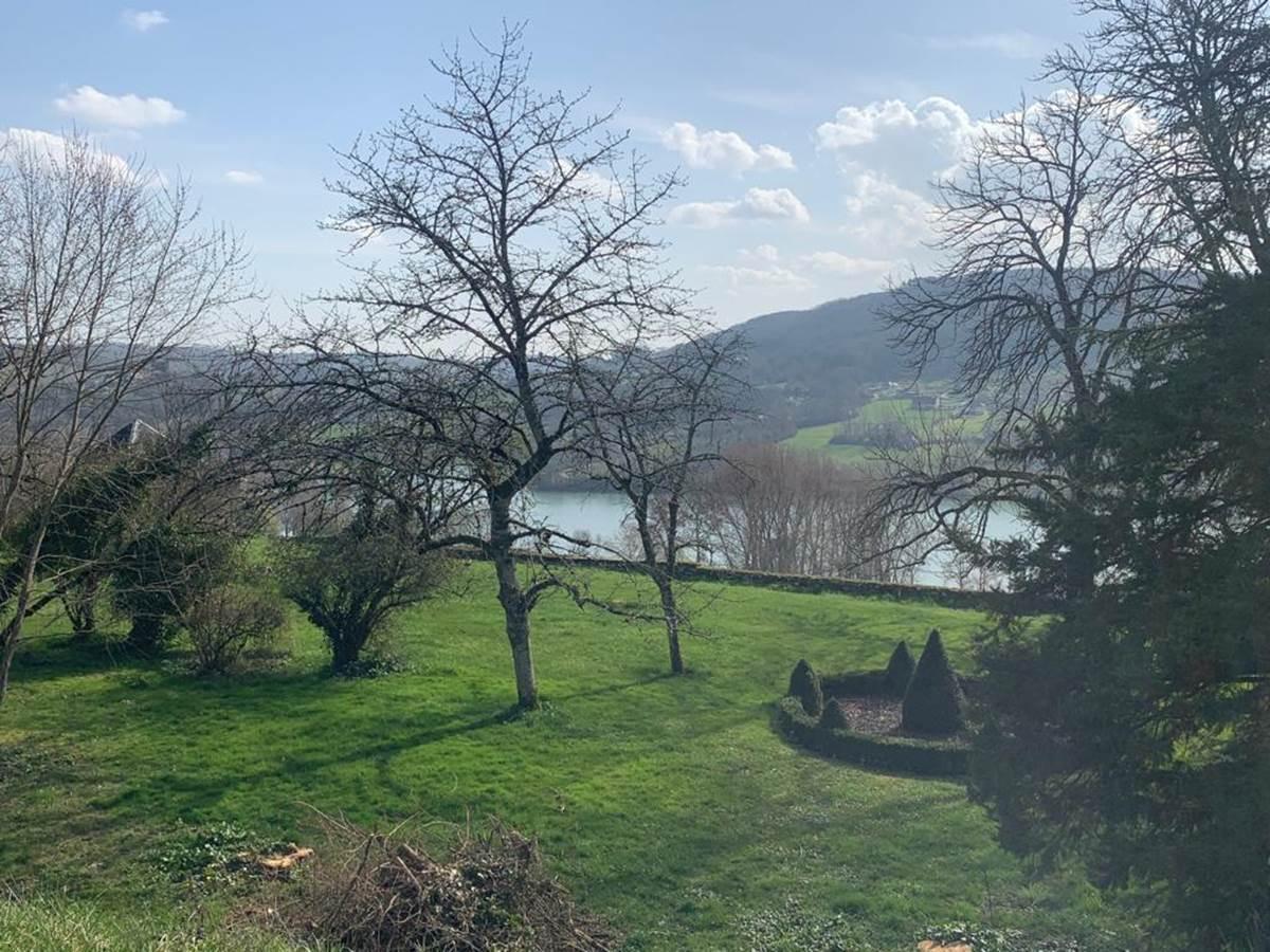 La vue du Gite du Château de Lissac