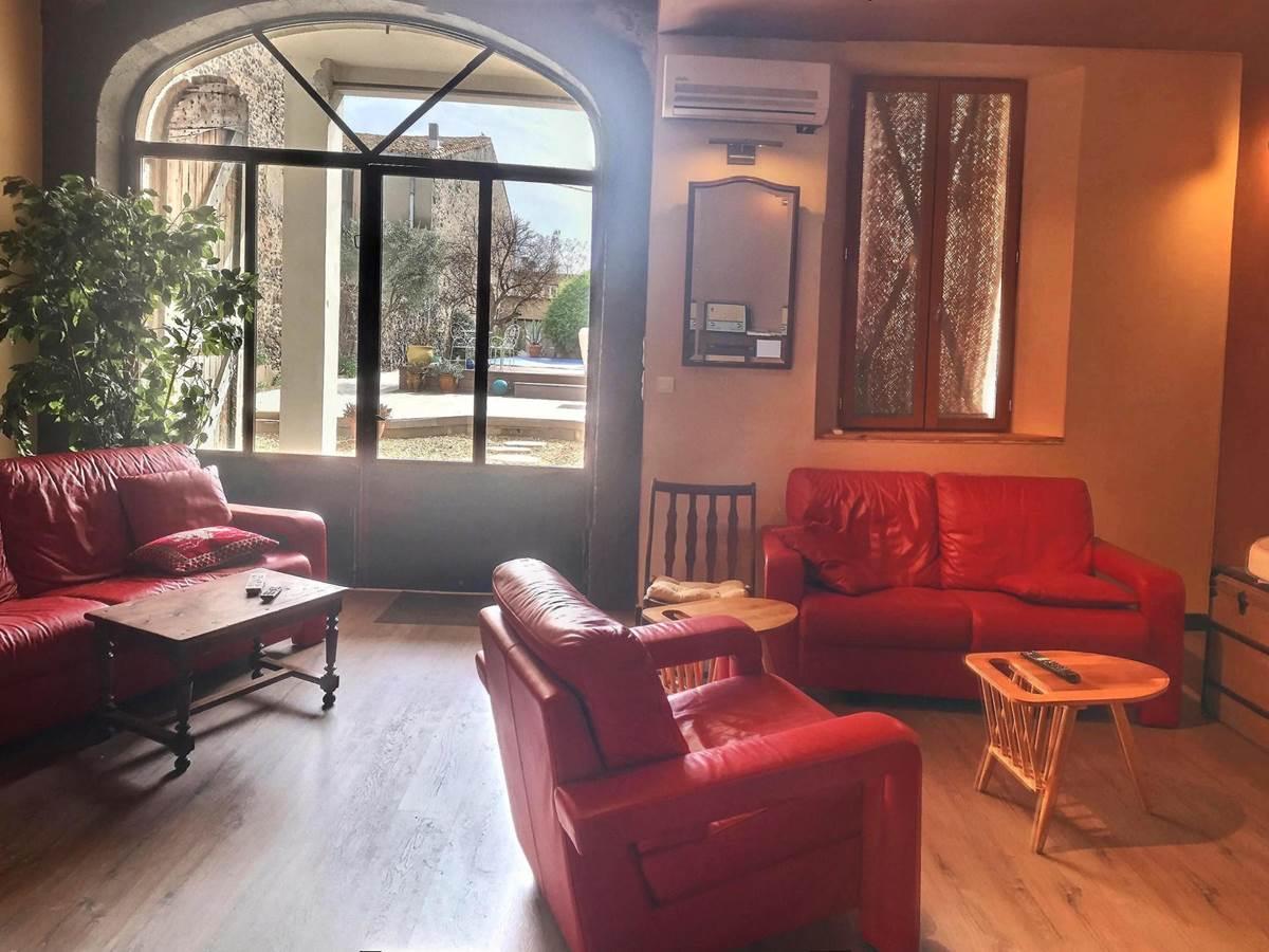 Salon B&B La casa Occitane -Languedoc