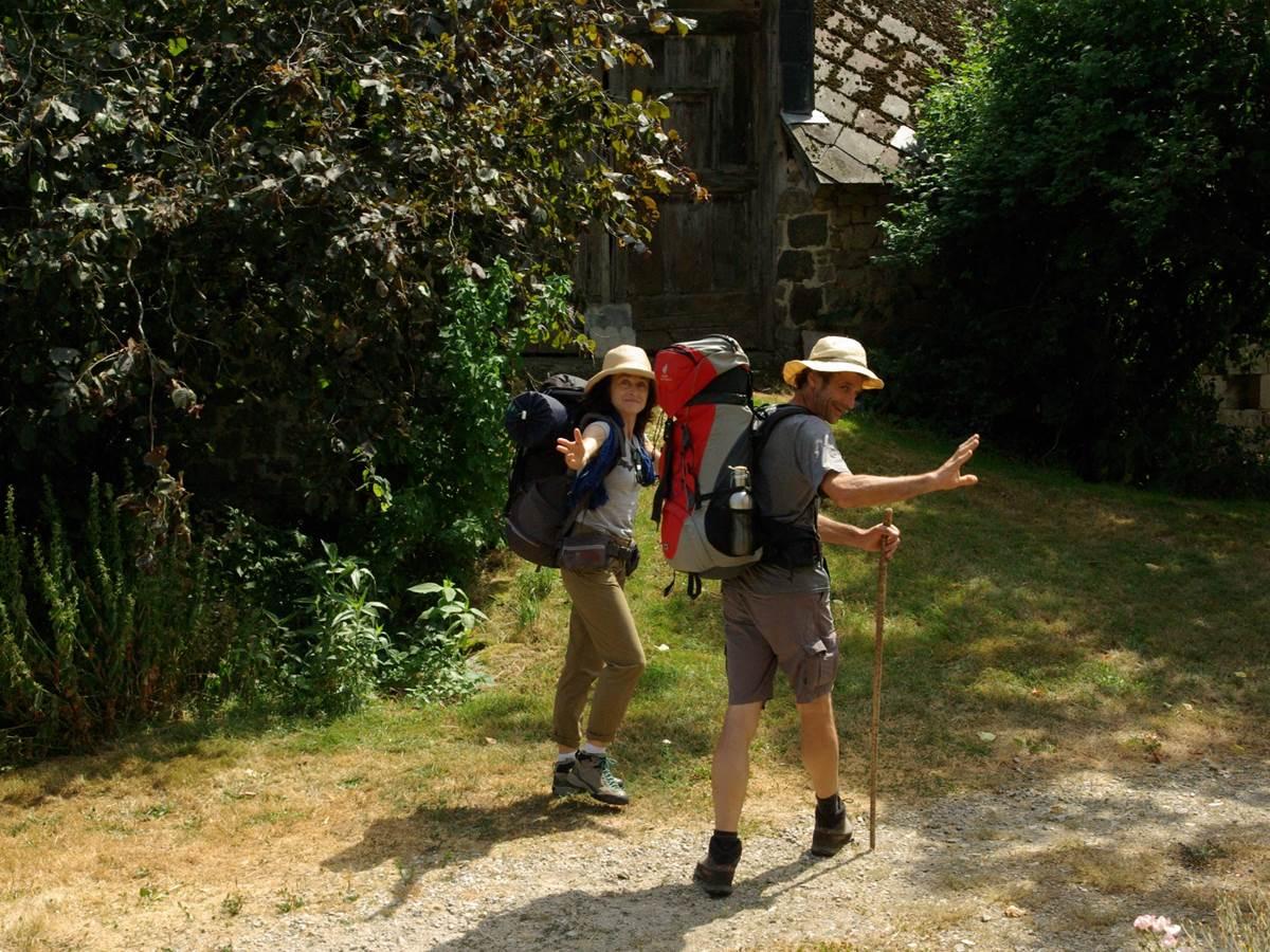 Gîte chemin de randonnée de Villages en barrages Clémensac Corrèze