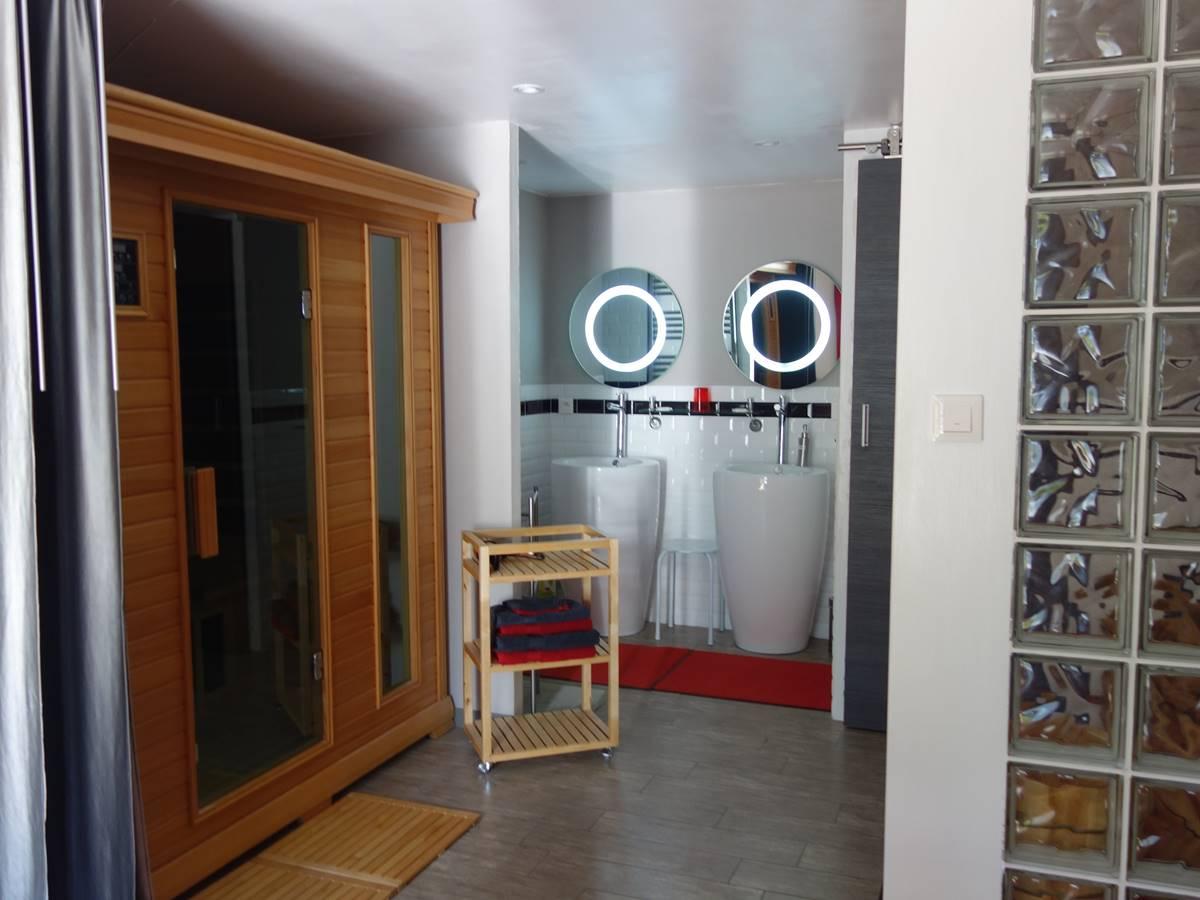 Loft Florent espace bain sauna
