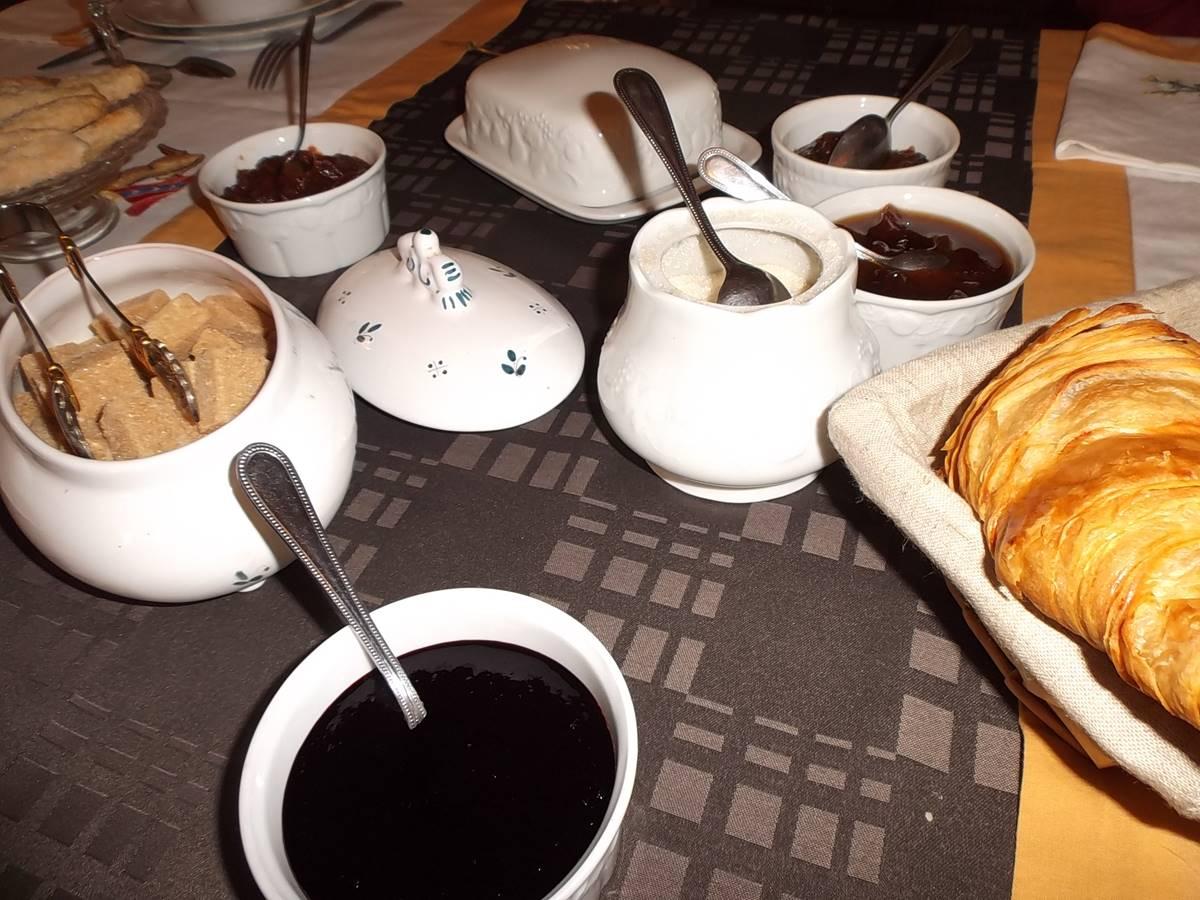Succulent petit-déjeuner