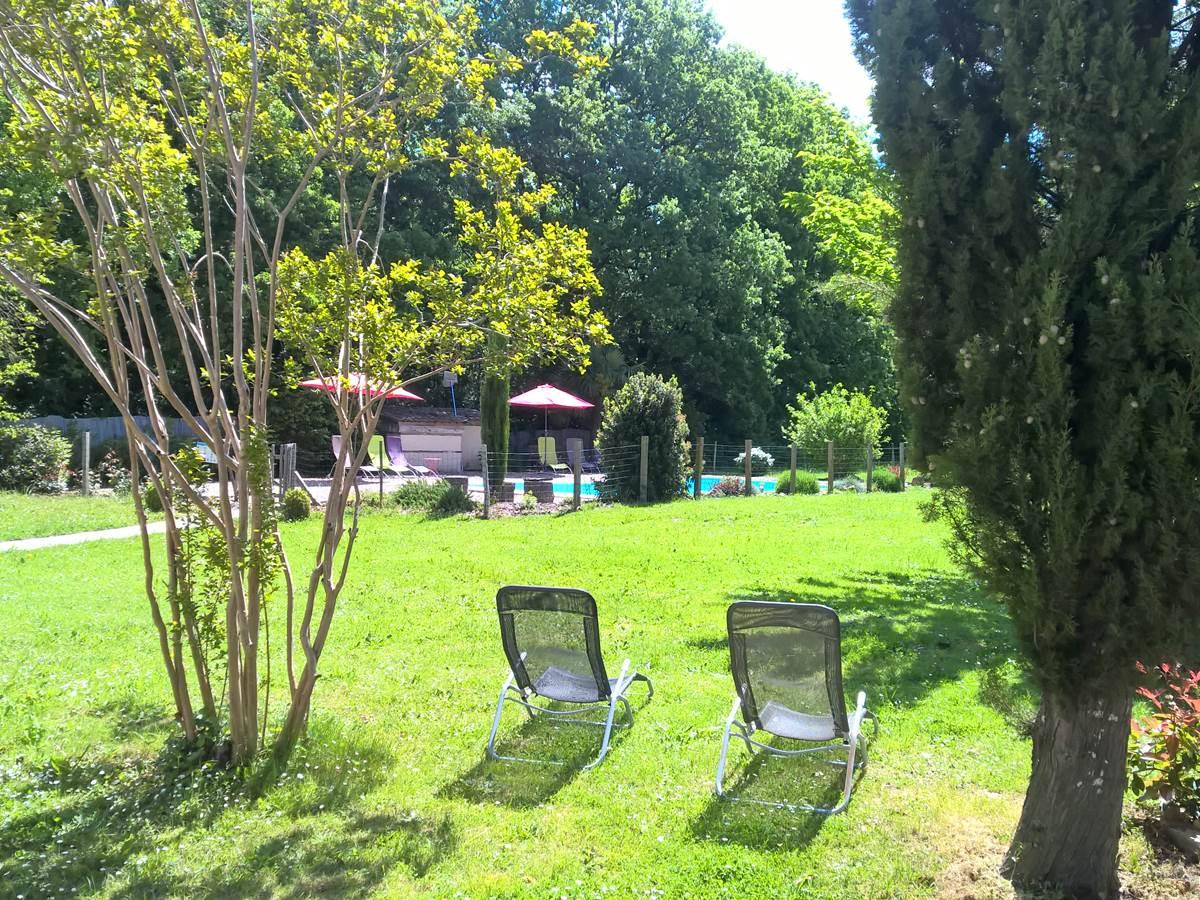 parc repos zen Forestière Chambres hôtes Gîte Quercy