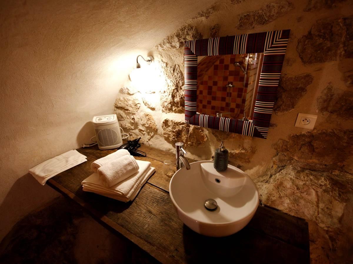 Le Roc Blanc salle de bain