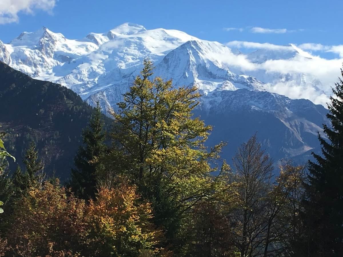 Le Mt Blanc depuis le chatelet