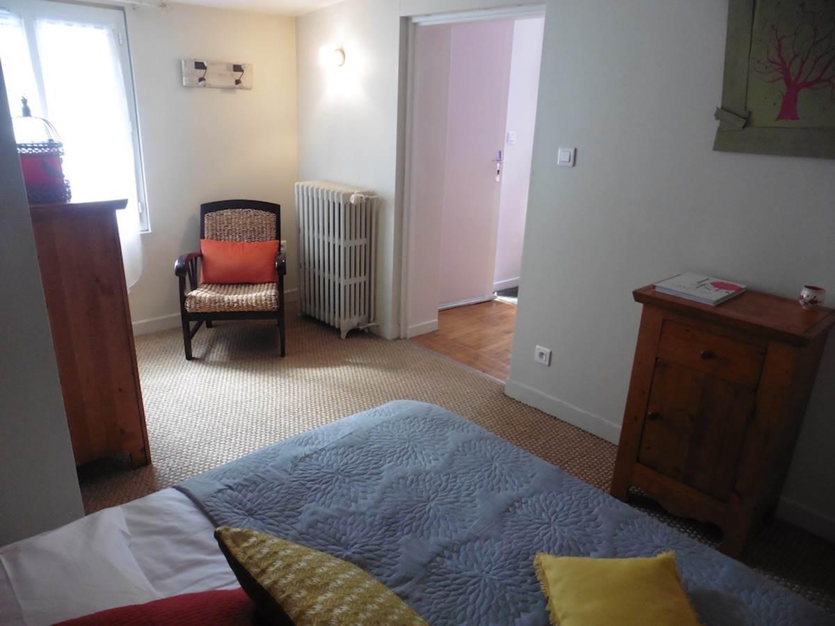 Maison d'hôtes l'éphémère à Limoges  chambre