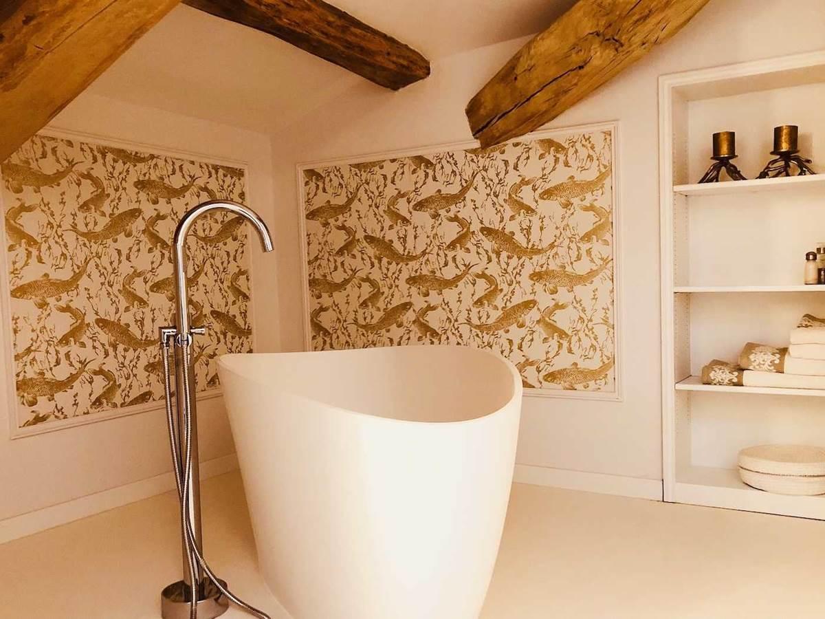Suite Jardin secret baignoire chambre-d-hote-lesmatinsrubis-tarn-et-garonne-occitanie-location-toulouse