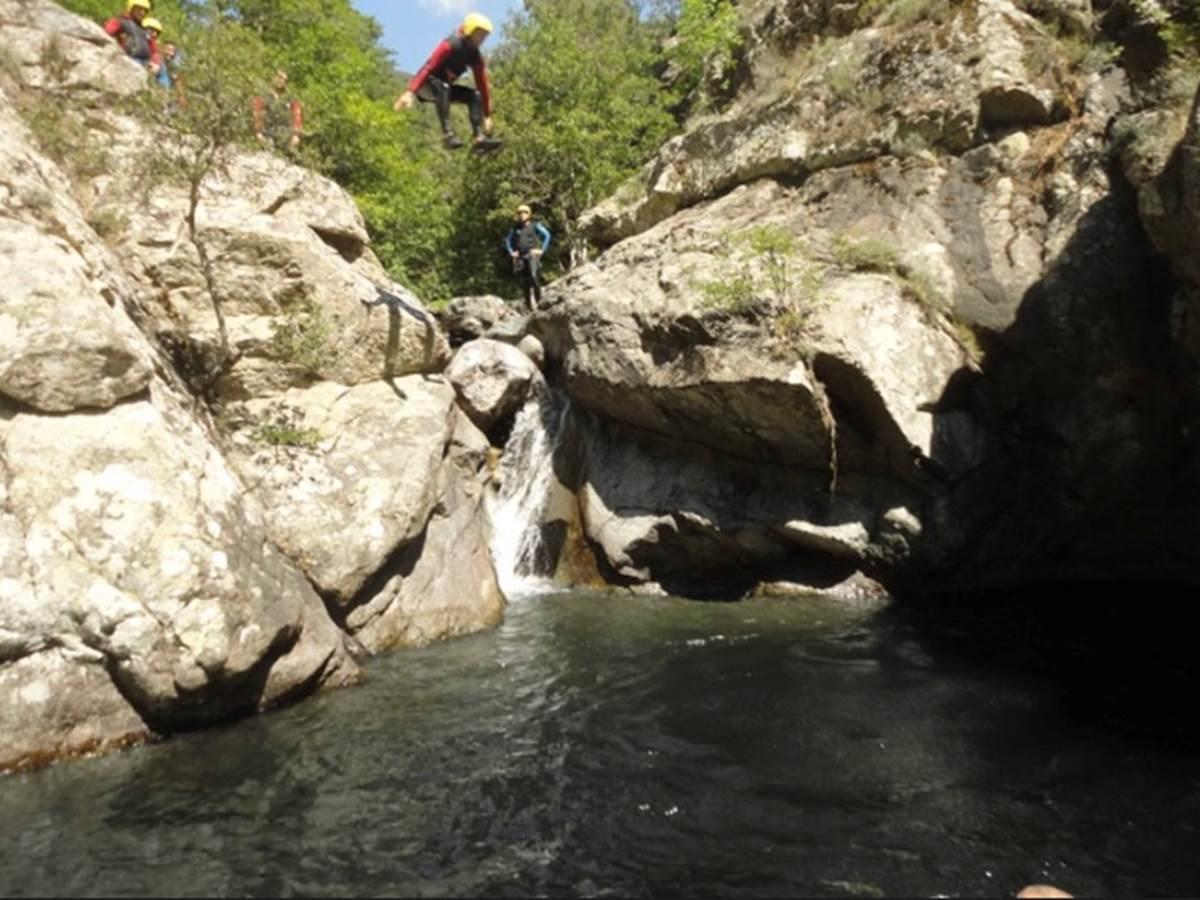 canyoning en rivière