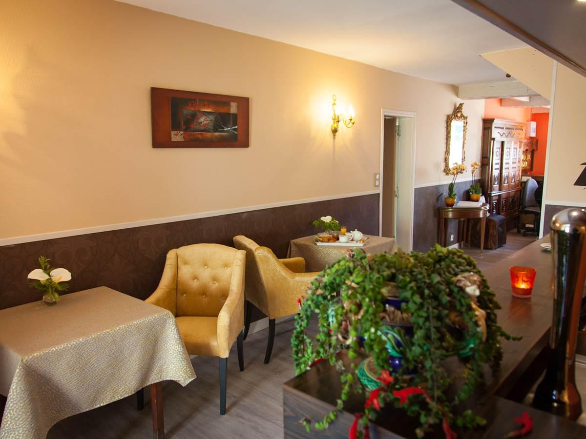 Espace bar détente Hôtel de Kerlon Plouhinec Morbihan