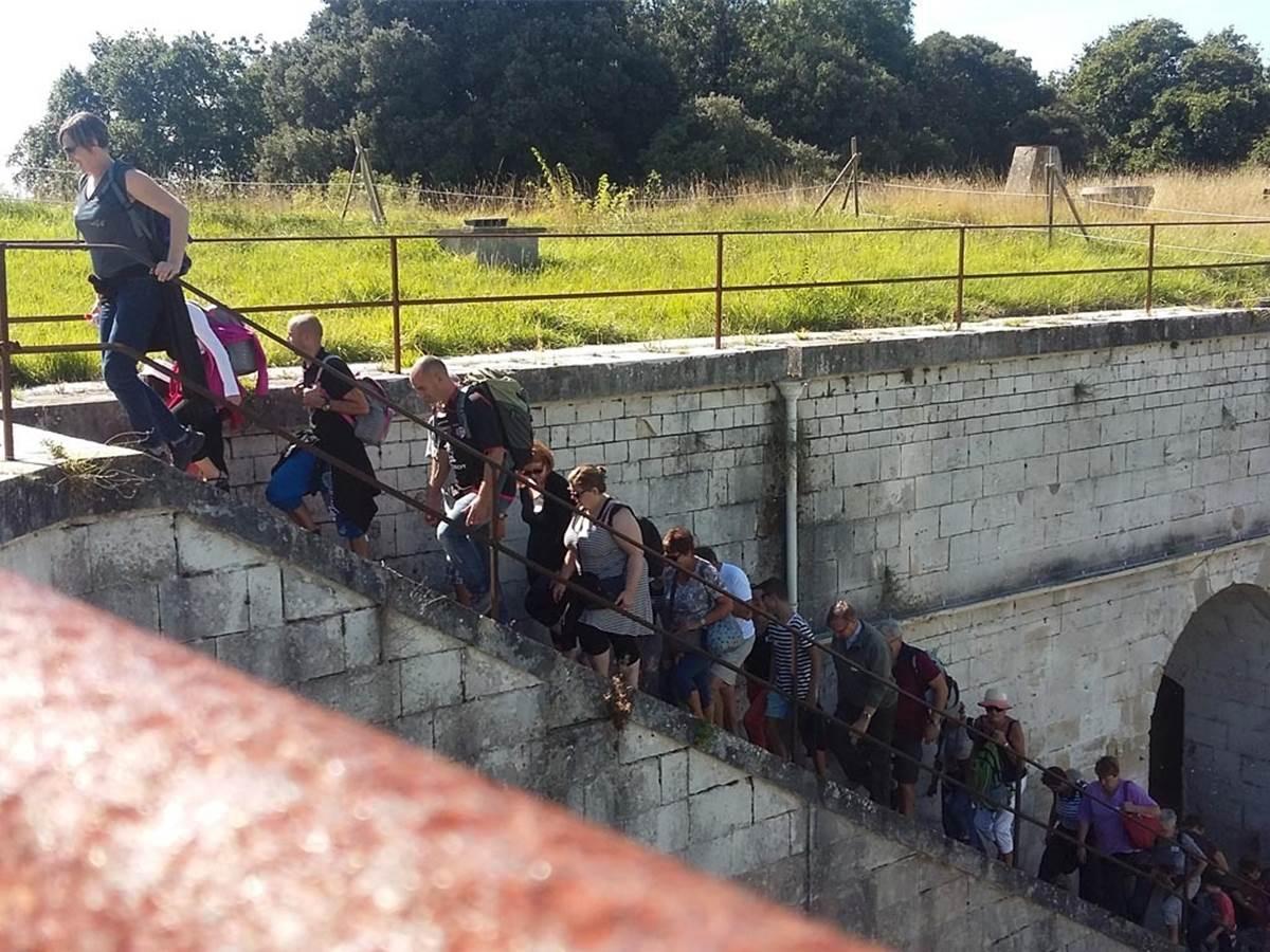 Visite guidée au Fort Liédot 3