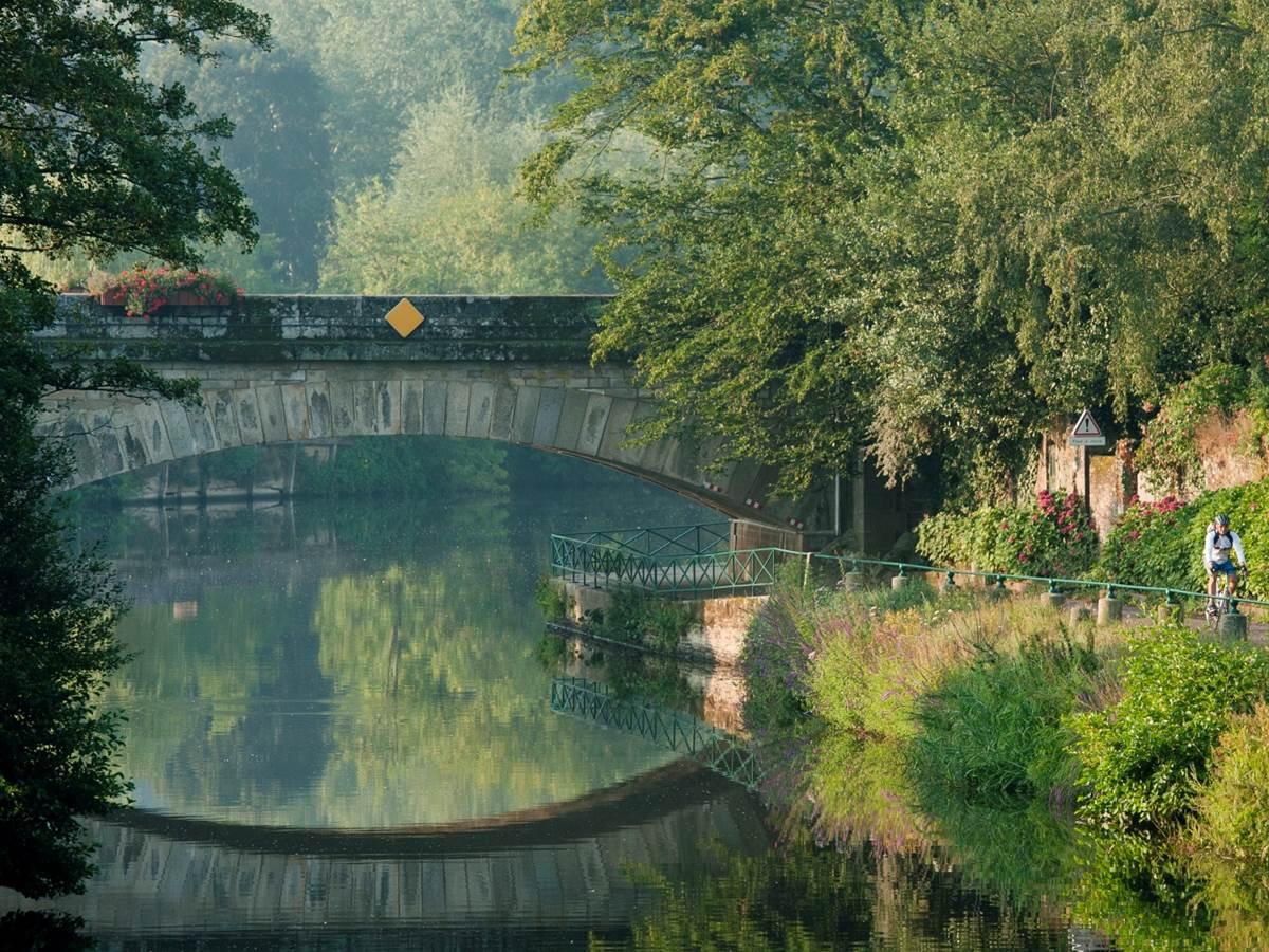 Le canal de Nantes à Brest, à Malestroit
